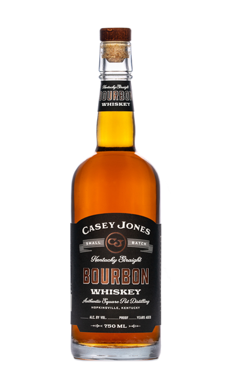 Casey Jones Distillery Small Batch Kentucky Straight Bourbon Whiskey 750ml