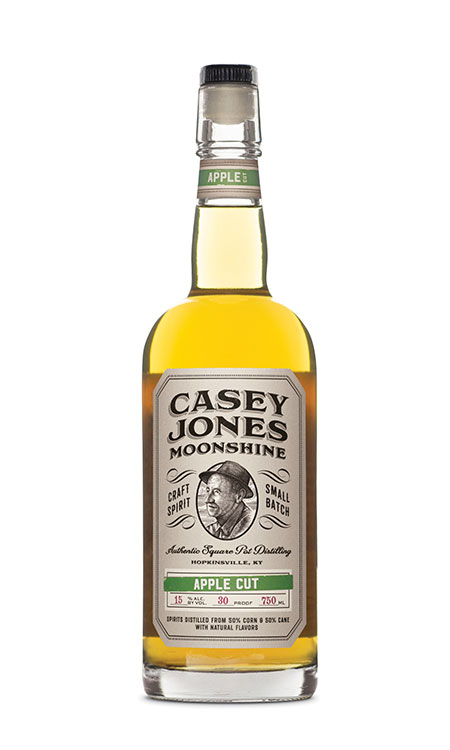 Casey Jones Distilllery Apple Cut Moonshine