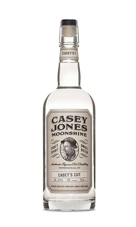 Casey Jones Distillery Casey's Cut Moonshine 750ml