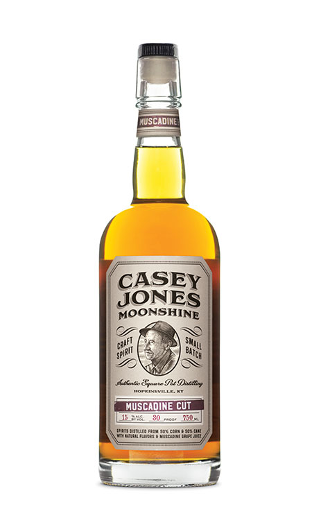 Casey Jones Distilllery Muscadine Cut Moonshine