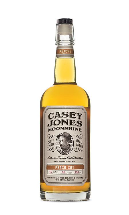 Casey Jones Distilllery Peach Cut Moonshine