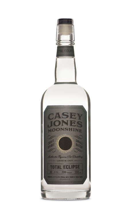 Casey Jones Distillery Total Eclipse Moonshine 750ml